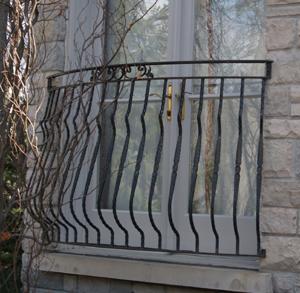 Decorative Custom Metal Bars And Rails Image